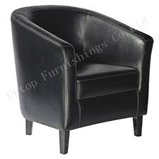 china cafe used single black faux leather tub chair sp hc535 china commerical sofa restaurant furniture
