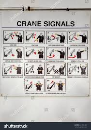 View Crane Hand Signal Easy Reference Stock Photo Edit Now 614725184