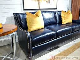 navy blue leather sofa. Fantastic Navy Blue Leather Sofas J5899301 Sofa Co Inspire Set Pertaining To . Impressive