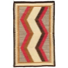vintage navajo rug handmade kilim rug brown red beige tan