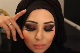 extreme red smokey eye double wing eyeliner arabian inspired makeup tutorial by fatihasworld you