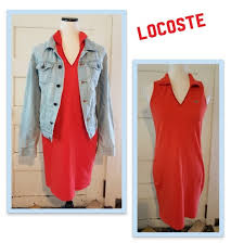 Lacoste Dress Size Chart Lacoste Sleeveless Dress