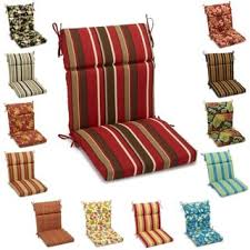 All weather High Back Chair Cushions Set of 2 Free Shipping