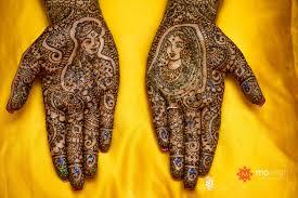 Asha Savla Mehndi Designs Books Free Download Bride And Groom On Two Hands With Henna Mehandi Henna