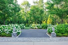 Landscaping ideas driveways Architectural Planting.