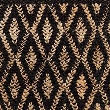 black jute rug home rugs decor dash sisal and two tone diamond natural woven target black jute rug