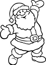 Santa Claus Printables Cool Santa Claus Printable Coloring Pages Have Fun Coloring The