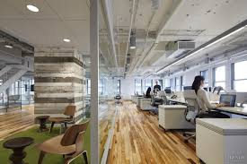 loft style office. contemporary loftstyle office interior in art deco chicago building for social media team loft style t