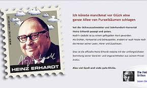 Heinz Erhardt Erhält 37 Jahre Nach Tod Noch Angebote Diepressecom