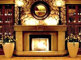 wall decor above fireplace image of artwork mantel