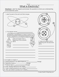Electricity Worksheets for High School – webmart.me