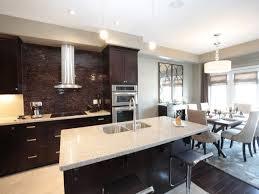 Kitchen Living Room Kitchen Living Room Design Dark Wood Kitchen Cabinet Cast Iron