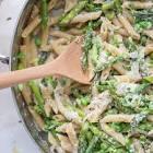 asparagus spring pea pasta