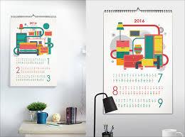 Corporate Calendar Ideas 25 Best New Year 2016 Wall Desk Calendar Designs  For Inspiration