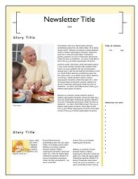family newsletter 10 family newsletter template free download