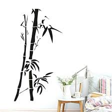 chinese wall decor wall art bamboo wall stickers for living room wall decor removable vinyl wallpaper chinese wall decor