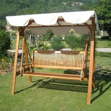international caravan royal tahiti 3 seater patio swing with frame and canopy com