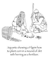 Small Picture Even though Squanto went through much suffering at the hands of