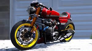 honda cb750 cafe racer animated gta5 mods com
