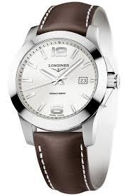 l3 659 4 58 6 longines conquest quartz 41mm mens watch l3 659 4 76 5