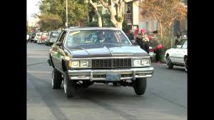 Chevy Caprice Classic lowrider on hydraulics in South Los Angeles ...