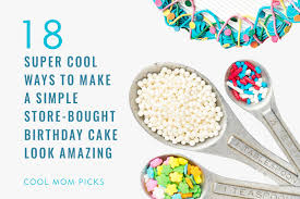18 Easy Cake Decorating Ideas To Amp Up A Store Bought Cake
