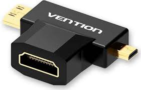 Купить кабель miniHDMI, <b>HDMI Vention HDMI</b> 19F/Mini <b>HDMI</b> + ...