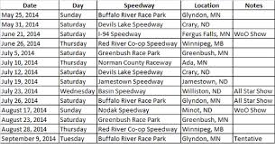 Travel Schedule Nosa Announces 2014 Travel Schedule Nosa Northern Outlaw Sprint