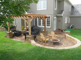 simple outdoor patio ideas. Plain Simple Simple Back Patio Ideas Outdoor And Design U2014 The  Kienandsweet Furnitures To R