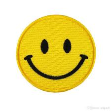 Emoji Embroidery Designs 2019 Custom Oem Design Jean Embroidery Collar Iron On Emoji Embroidered Patch Wholesale Cheap Price High Quality From Ackpatch 0 76 Dhgate Com