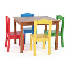 delightful kid table and chair sets natural primary tot tutors kids tables chairs tc633 64 1000 5 chairs excellent kid table