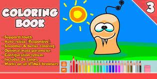 coloring book html5 game codecanyon item