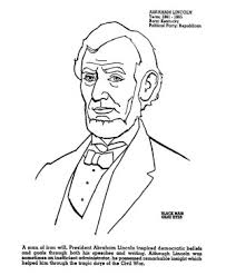 Small Picture lincoln coloring page