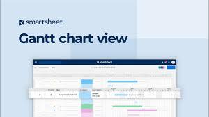 Gantt Chart View Smartsheet Learning Center
