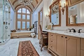 ont accurately describes the master bathroom at 4346 park lane from the crystal chandeliers to the marble counters this traditionally designed room