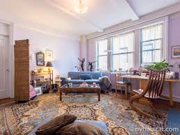 New York 1 Bedroom roommate share apartment - living room (NY-6091) photo  ...