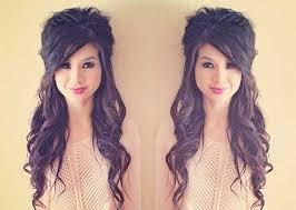 cute easy half updos for long hair