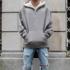 whole kmo drop streetwear hip hop half zip split up sherpa hoo fleece jacket latex fur coats designer mens brand clothing very mens coats