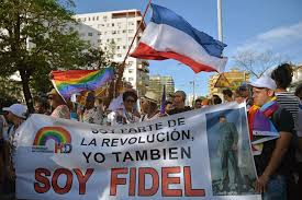Image result for gay parade in cuba images
