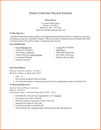 Current College Student Resume Examples Resume Examples For Students 24 Sample Objective College Student Part 22