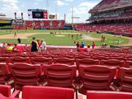 Great American Ball Park Section 118 Home Of Cincinnati Reds