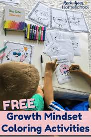 For an extra dose of fun, try printing two copies, then sit by your child and color them together. Free Growth Mindset Coloring Activities Kids Will Love Rock Your Homeschool