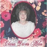 Clara Davis Miles November 6 1936 July 12 2020, death notice, Obituaries,  Necrology