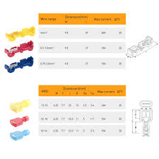 7234 automotive mini relay wiring diagram wiring library amazon com nilight 120 pcs 60 pairs quick splice wire terminals t