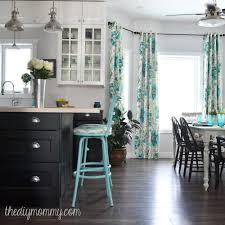 Paint Ikea Kitchen Cabinets Turquoise Painted Kitchen Cabinets Quicuacom