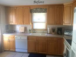 Kitchen Cupboard Makeover A Kitchen Cabinet Makeover