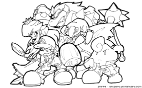 Small Picture Super Smash Bros Coloring Pages At itgodme
