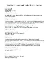 Sonographer Job Description Job Description Diagnostic Medical Cover