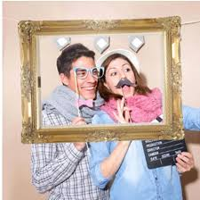 picture frame for photo booth vintage frame photo booth prop background for wedding birthday family paper