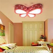 Deckenleuchten Schmetterling Rosa Mädchen Schlafzimmer Lampe Led